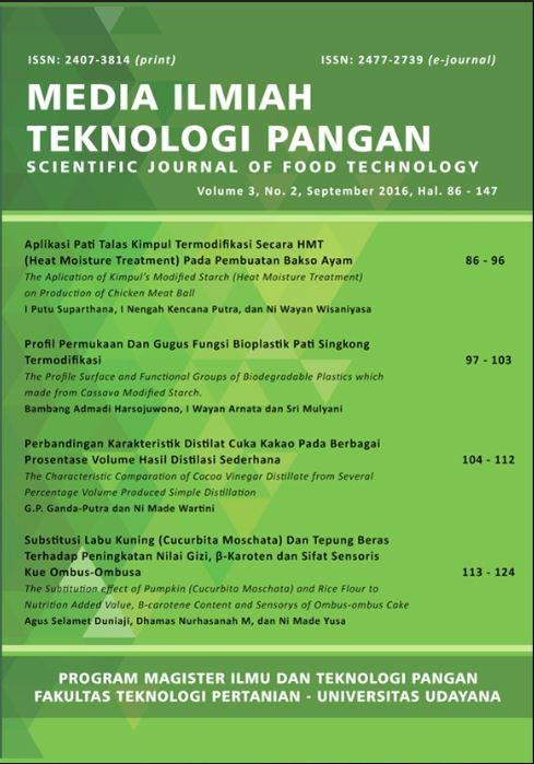 Skripsi Teknologi Pangan Ipb Pdf