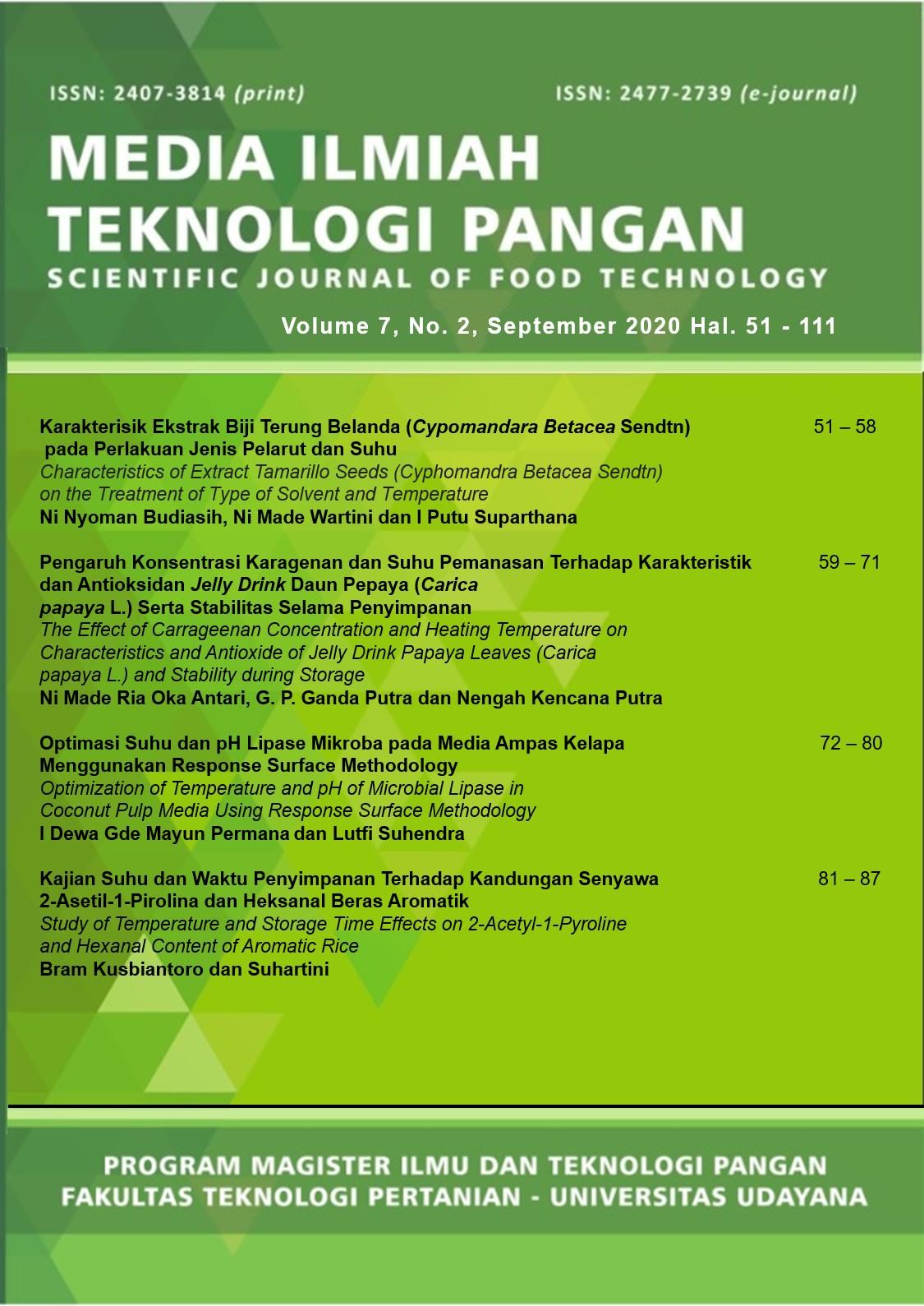 MITP Vol.7 No 2 September 2020