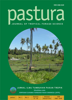Pastura; Journal of Tropical Forage Science