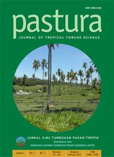 Pastura : Jurnal Ilmu Tumbuhan Pakan Ternak