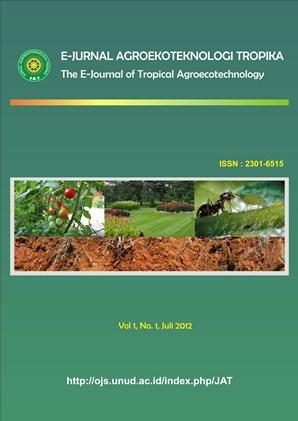 Jurnal Agroekoteknologi Tropika (Journal of Tropical ...