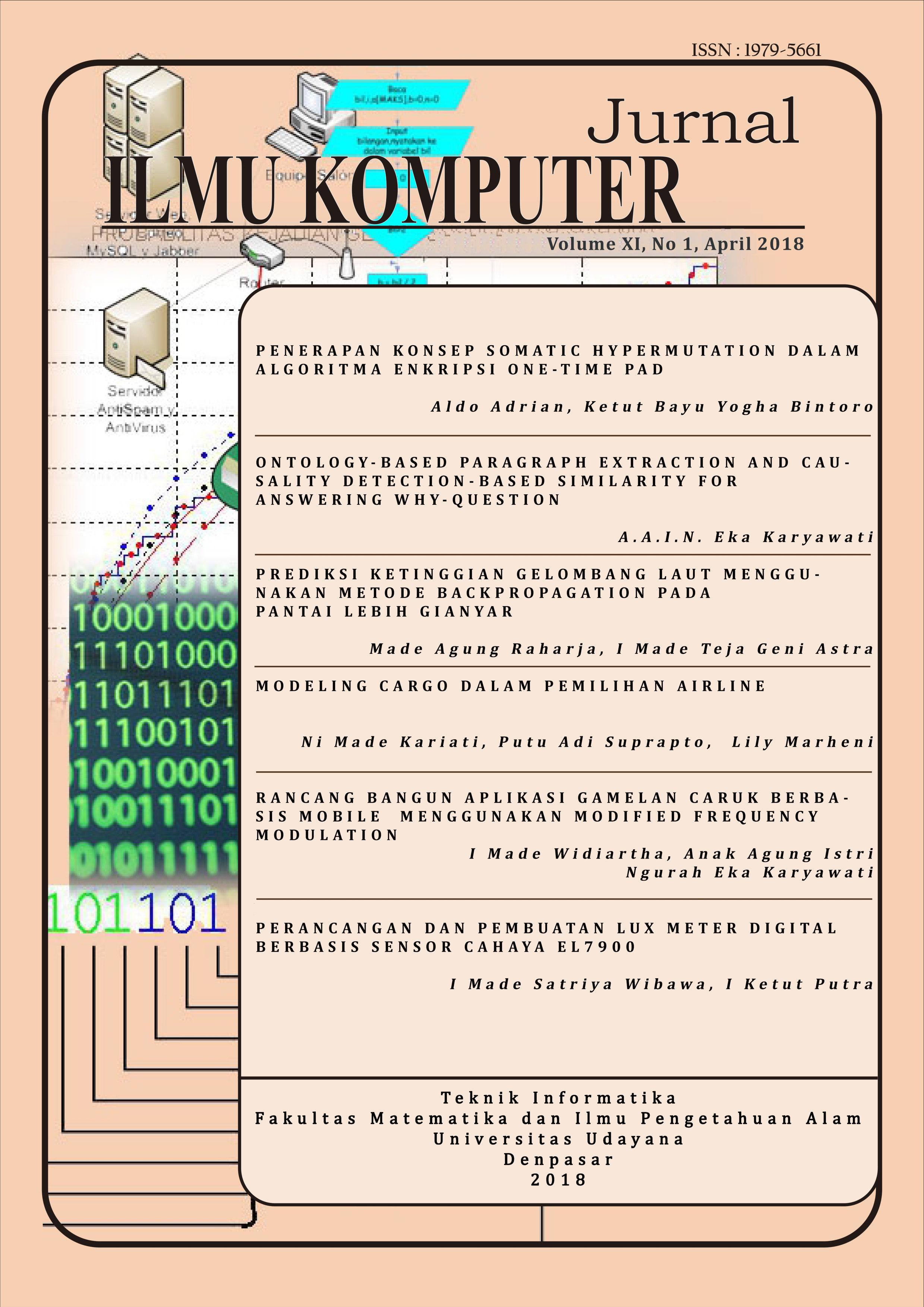 jurnal ilmu komputer