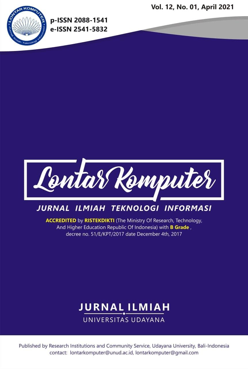 Lontar Komputer; Volume 12; April 2021