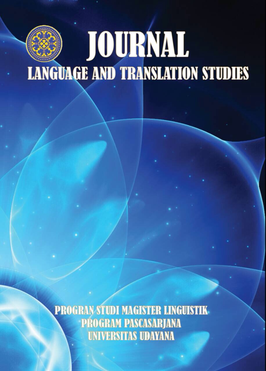 E-Journal of Language and Translation Studies